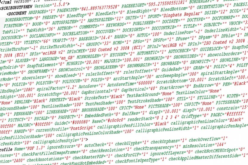 Scribus – Open Source Desktop Publishing